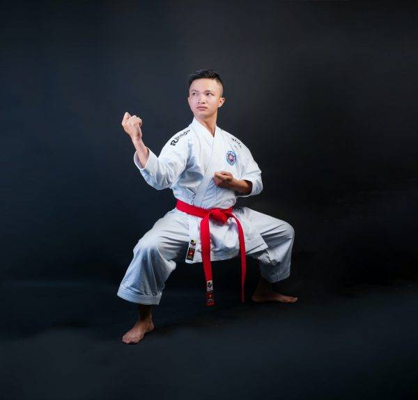 man wearing karatejee
